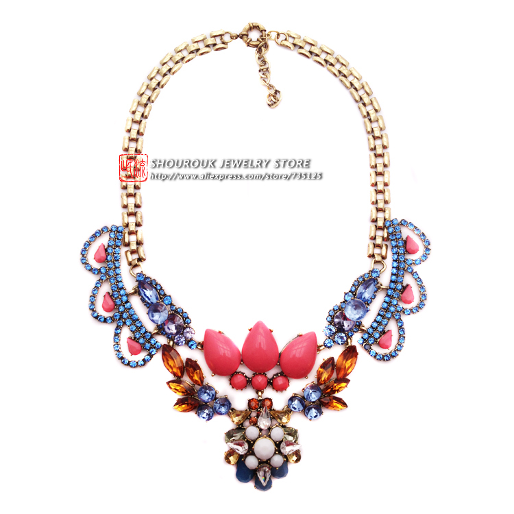 aliexpress buy top quality statement necklace 2015