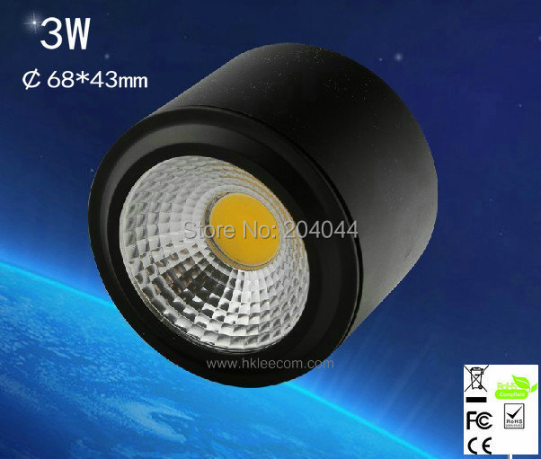 4pcs/lot  3w ,down lamp Surface mounted down lights  ,high-grade shell, ,advantage products,high quality  light<br><br>Aliexpress