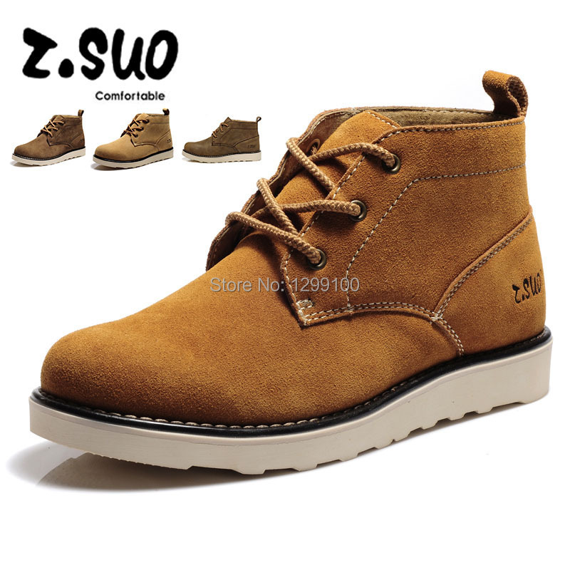 Mens British High Tooling Martin Boots Shoes for Men Casual Shoes Cotton Shoes Genuine Leather Boots ZS6908Y<br><br>Aliexpress