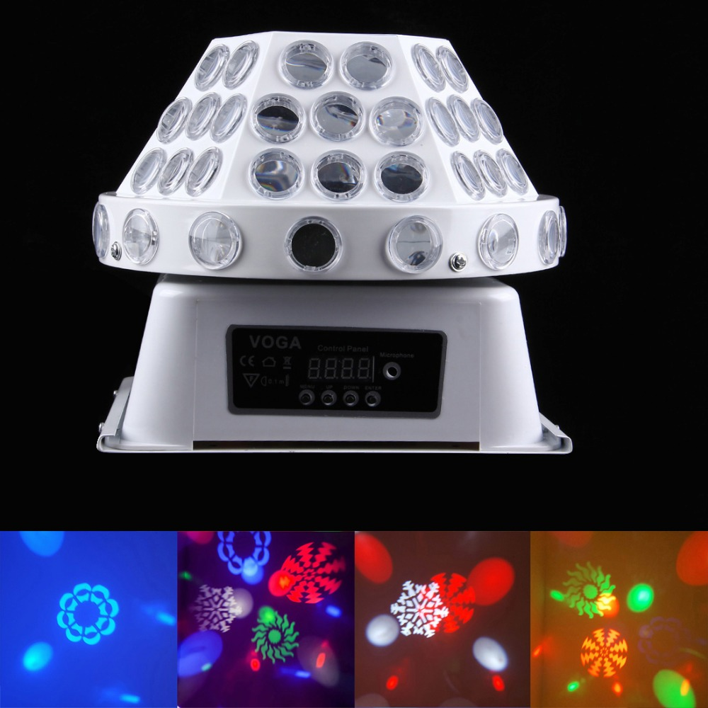 30W LED Stage Lighting Effect Professional DJ Equipment Strobe Dance Disco Lights Home Club Bar Party Show Spot Lamp Light