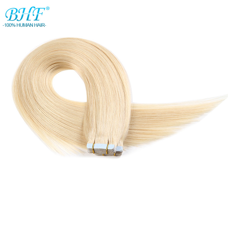 Tape In Human Remy Hair Straight Tape Human Hair Extension 20Pcs/Pack 100% Brazilian Tape Hair Extensions Adhesive Products(China (Mainland))