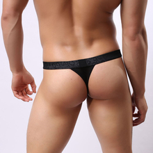 B1138 Men Sexy Lace Transparent Personal Briefs Bikini G-string Thong Jocks Tanga Underwear Shorts Exotic T-back Brave Person