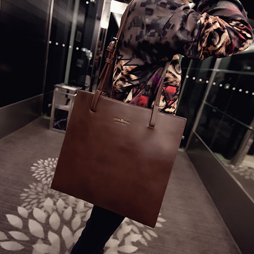 Big bags fashion vintage 2014 brief briefcase handbag cross-body 2015 Soft Leather Women Party Handbags bag - fashional accessories store
