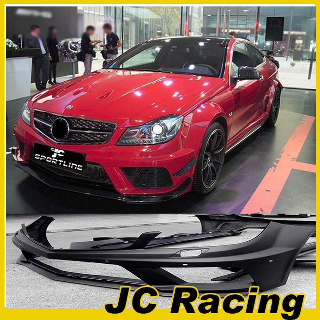 W204 C63 AMG WIDE body kit for benz( front bumper,fender, side skrits, rear bumper) 2012-2014(China (Mainland))