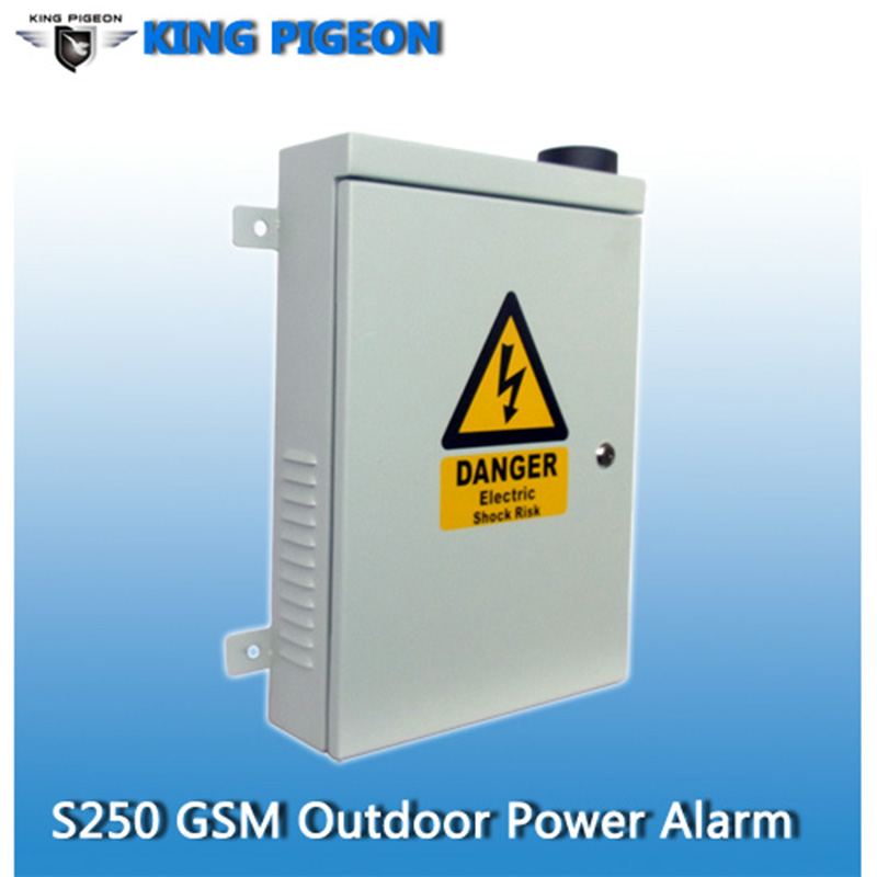 GSM Outdoor Alarm Power Line Loss Alarm Controller Wireless Anti-Theft Electricity Security System GSM GPRS Date & Control Panel(Hong Kong)