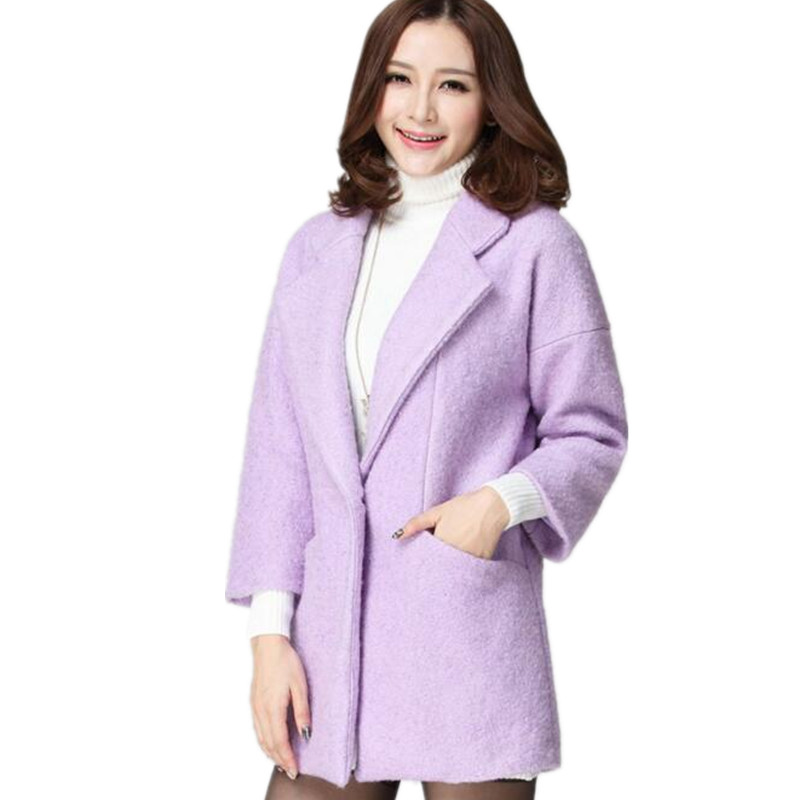 Fat mm new flower show 2015 winter thick woolen coat plus size womens slimming long woolen coatОдежда и ак�е��уары<br><br><br>Aliexpress