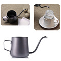 Mini Stainless Steel Hanging Ear Hand Blunt Coffee Pot Of Coffee Teflon Cappuccino Art CupWith elegant