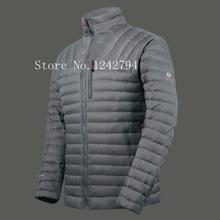 [ELITE]2015 Brand Logo Ultra-Light Men's Winter Parka Coat 90% White Duck Down Jackets Sportswear Outdoor Casual Chaqueta Hombre(China (Mainland))
