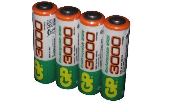 12pcs/lot original GP aa rechargeable battery 3000mah / gp 3000 / / rechargeable battery gp batteries 1.2V Ni-MH(China (Mainland))