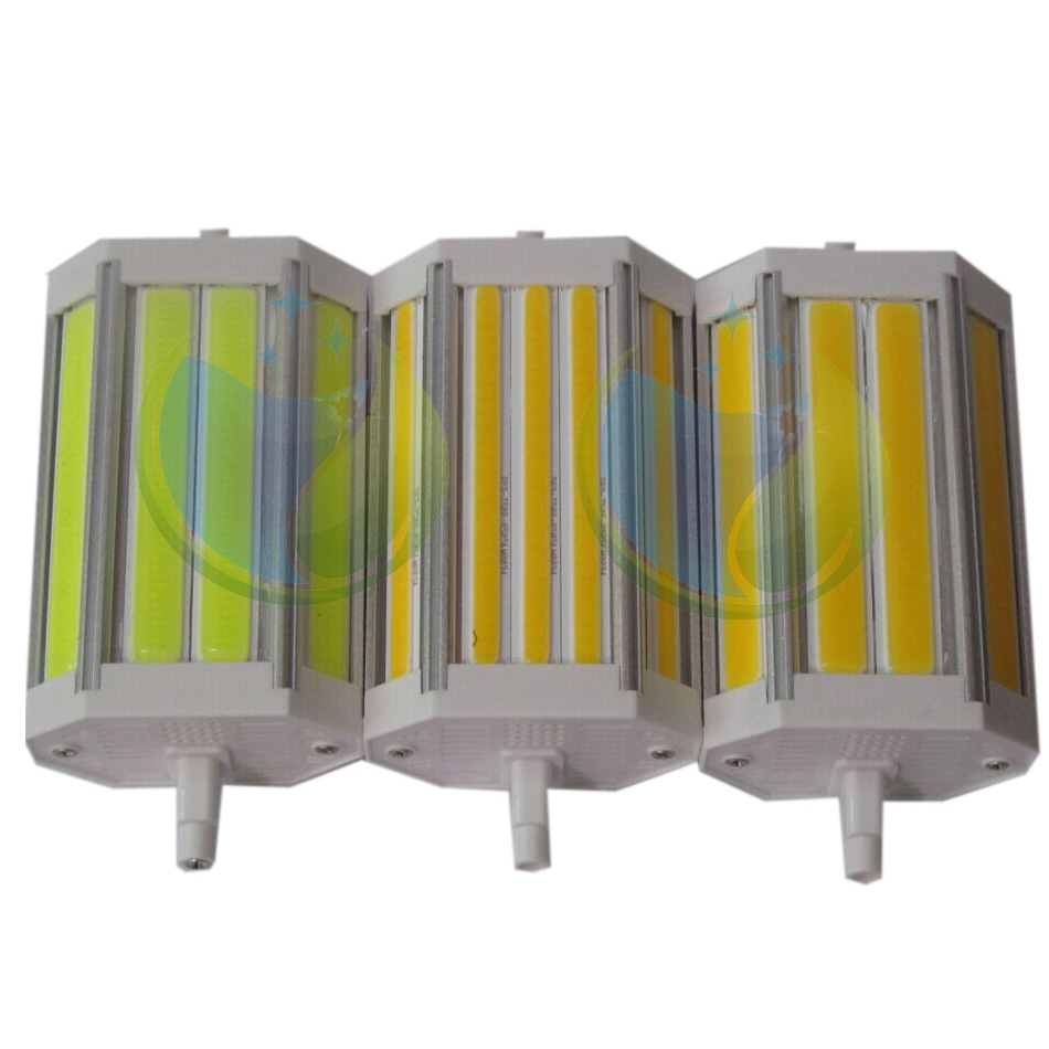 free r7s cob led 118mm dimmable 30w j118 led r7s 118mm dimmable 30w cob lamp flood light replace 300W halogen lamp(China (Mainland))