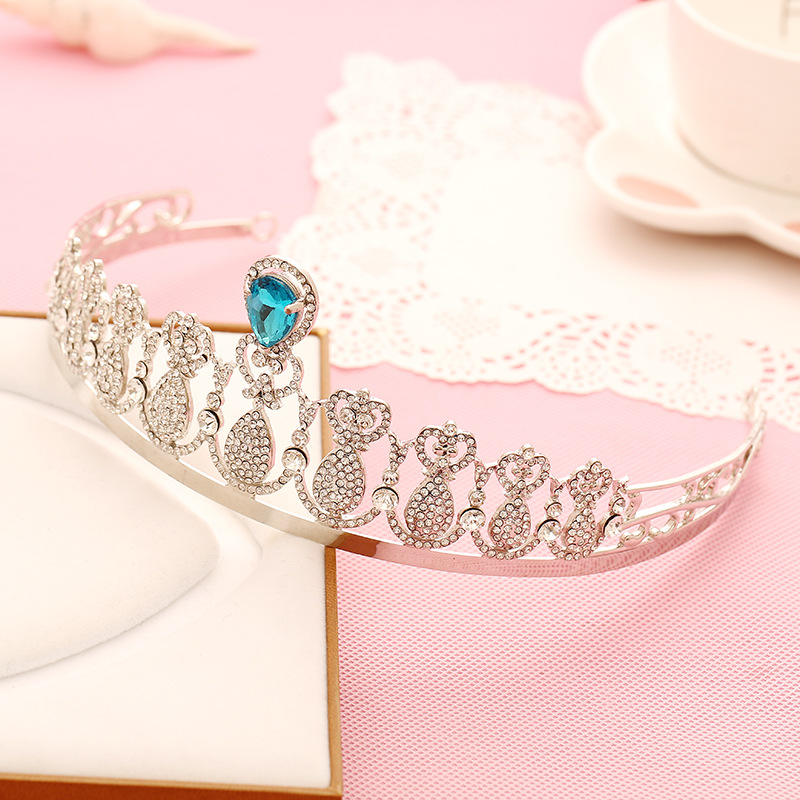 Tiara Crown Wedding Bridal Headpiece Hair Accessories Jewelry Casamento Tiaras And Crowns Bijoux Femme Diademe Mariage WIGO0657<br><br>Aliexpress