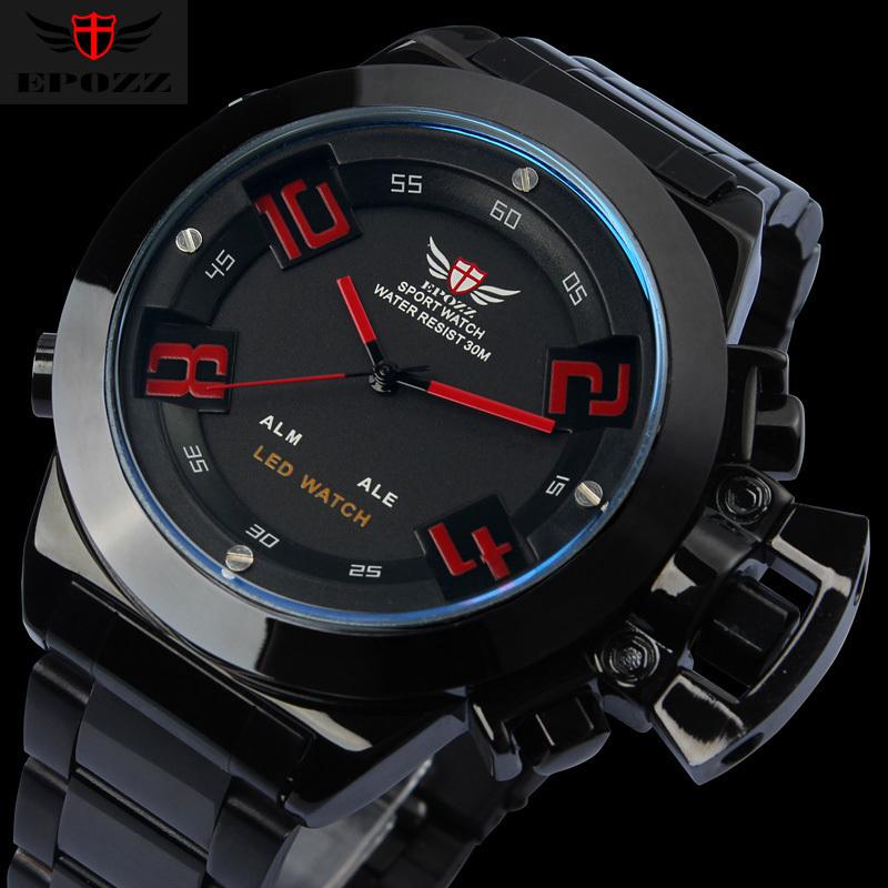 s steel watches 2014 new brand epozz analog