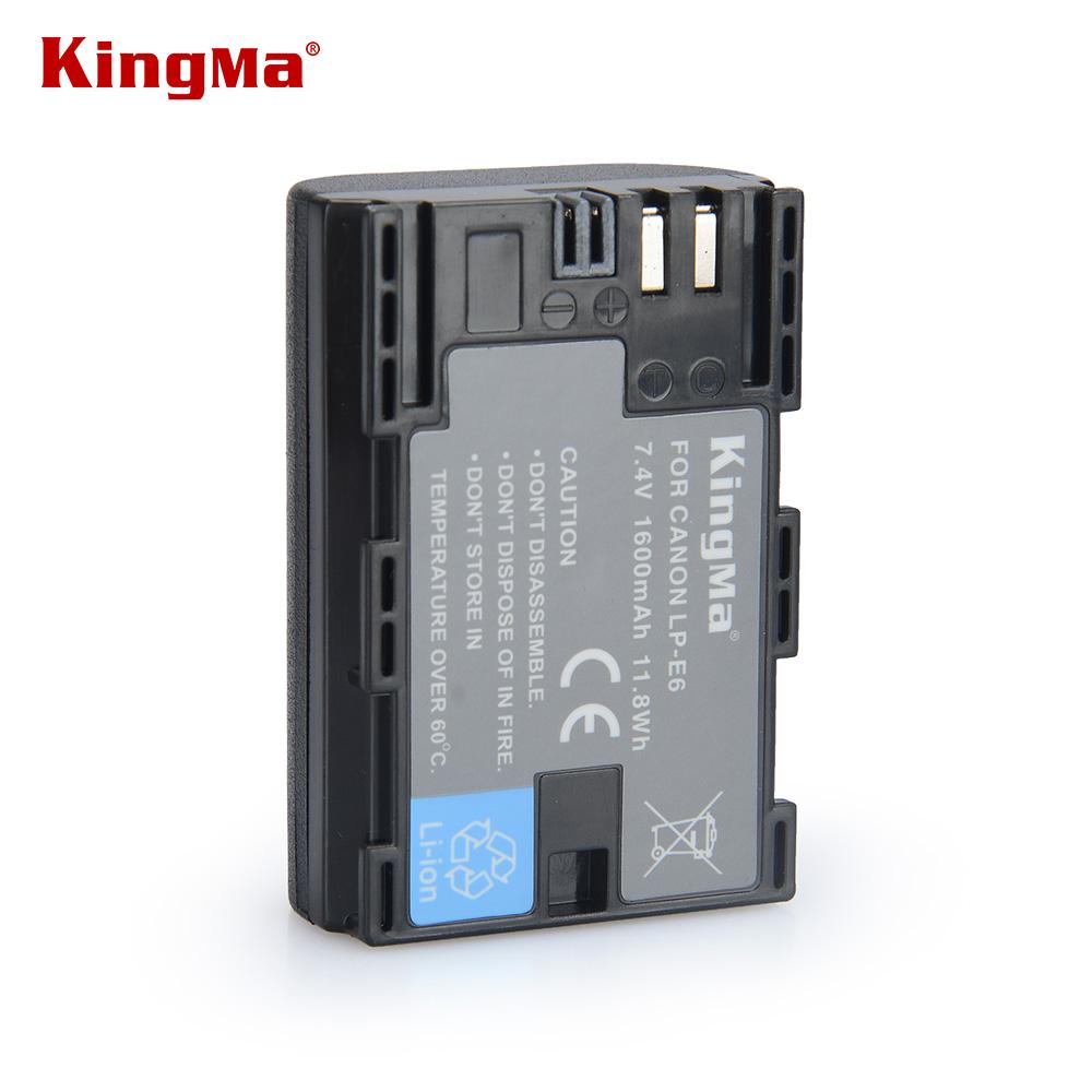 KingMa LP-E6 LP E6 LPE6 Rechargeable Camera Battery Pack For Canon 5D2 5D3 5D 7D 6D 70D 60D Mark II III 2 3 batteries(China (Mainland))