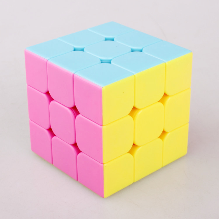 MoYu Most brain Yongjun third-order puzzle cube 3x3x3 YuLong pastel Magic speed cube Education toys The best Action figures toy(China (Mainland))