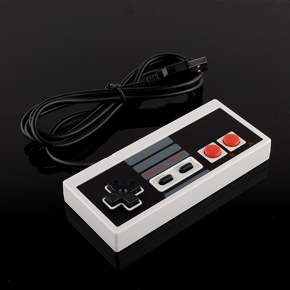 HOT USB Controller Gaming Gamer JoyStick Joypad For NES Windows PC for MAC Computer Accessories Video