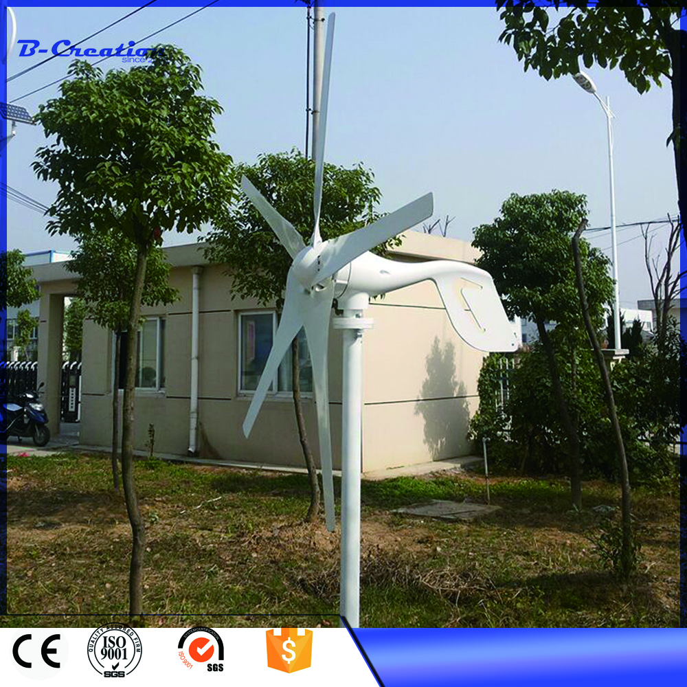 Good price 400w 12/24V wind generator with permanent magnet generator low noise low start wind, made in China for sale(China (Mainland))