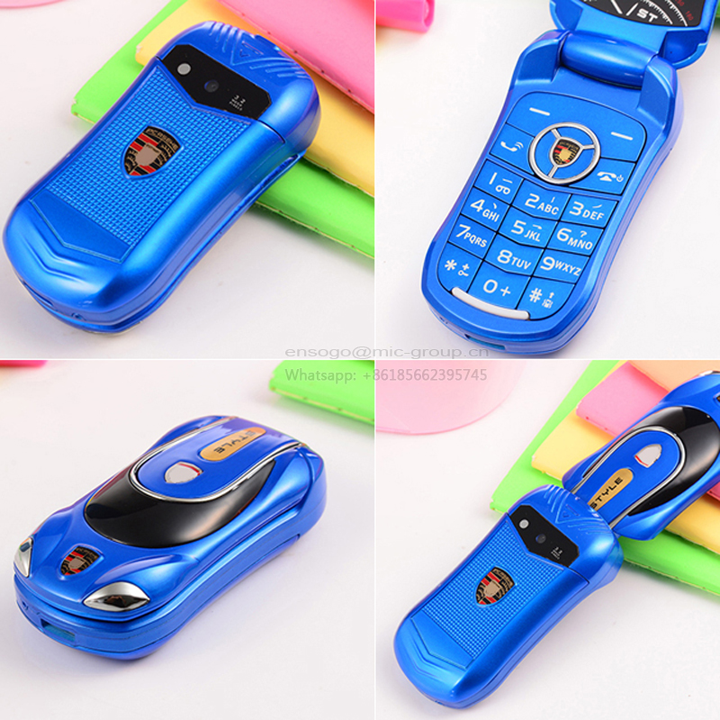 2015 unlocked Russian keyboard flashlight super car model mini mobile cell phone P231(China (Mainland))