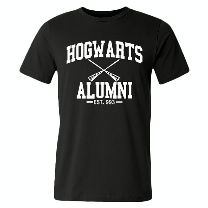 Hogwarts Alumni Men Women Harry Potter T shirts