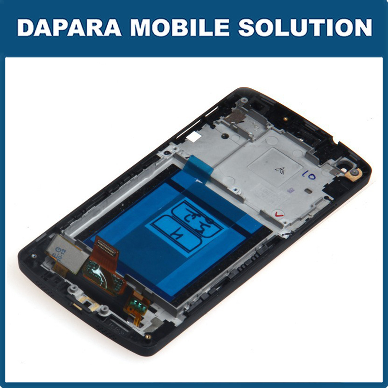 Hight Quality LCD Display Assembly for LG Google Nexus 5 LG D821 D820 with A Frame Bezel + Repair Tools + Free Shipping