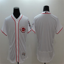 Mens Cincinnatis 2016 New FLEXBASE Red White Blank Home Road Throwback 100% Stitched Baseball Jersey(China (Mainland))