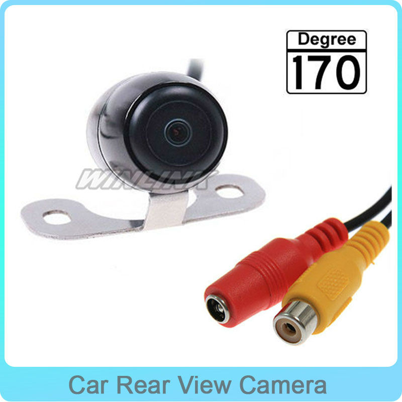 170 Degree Wide Viewing Angle Waterproof View Reverse Backup Car Rear View Camera Free Shipping<br><br>Aliexpress