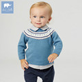 DB5899 dave bella autumn newborn baby boys girls 100% cotton cardigan infant clothes toddler children knitted Sweater