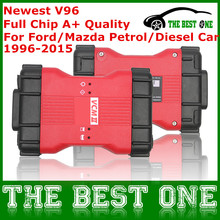 VCM2 Full Chip Professional OBD2 Car Diagnostic Scanner VCM II For Mazda / Ford 1996-2015 VCM 2 IDS V96 Multi-Languages DHL Free(China (Mainland))