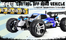 Hot sale 2.4G High speed Four-wheel  Stunt CAR/Remote control racing car Full 1/18 Scale SUVs Cars MAX velocity 50KM/H(China (Mainland))