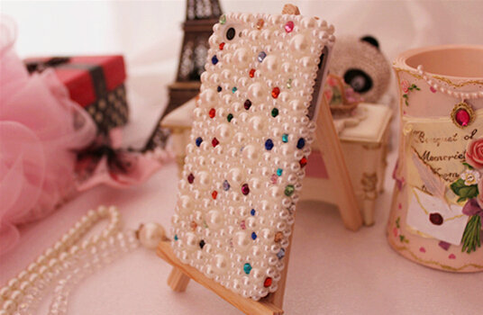 Free Shipping!Customize Pearls MobilePhone Case/Cover for Samsung S3 S4 S5 S4 mini Simple Fashion Skins for Galaxy A3 A5 A7(China (Mainland))