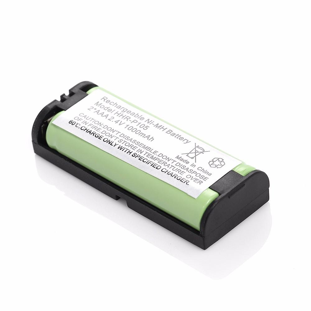 EBL 1000mAh 2.4v Replacement Ni-MH Battery For Panasonic Cordless Phone KX-TGA670B KXTGA670B HHR-P105A TYPE 31 Batteries