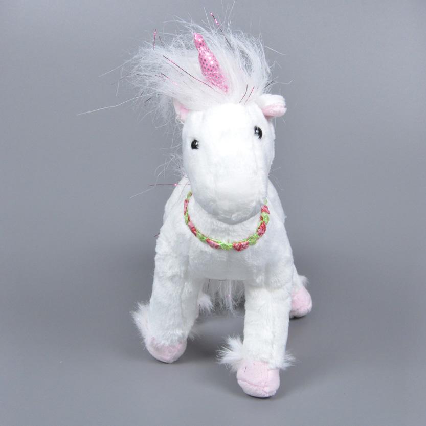 2016 Movie Minion Evil Unicorn Plush Stuffed Toy Minions Jorge Stewart KidsToy White Horse One Piece Anime Hot Toys For Children<br><br>Aliexpress