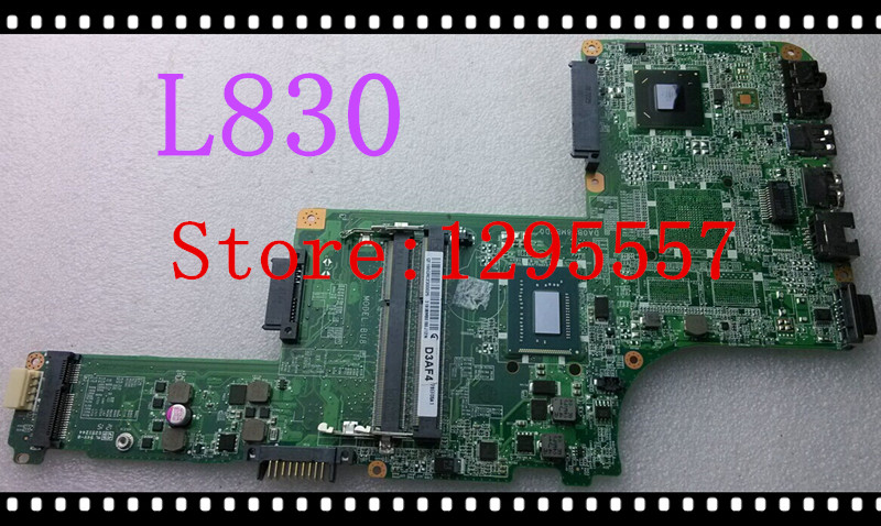 New Arrival For Toshiba Satellite L830 Motherboard A000209210 HM76 integrated SR0N8 i5-3317U DA0BU8MB8D0 100% fully tested(China (Mainland))