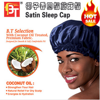 Sleep Cap,MOQ 1piece!Newyork Style,Beauty Town Fashion Mobcap bedroom sleep cap,5colors