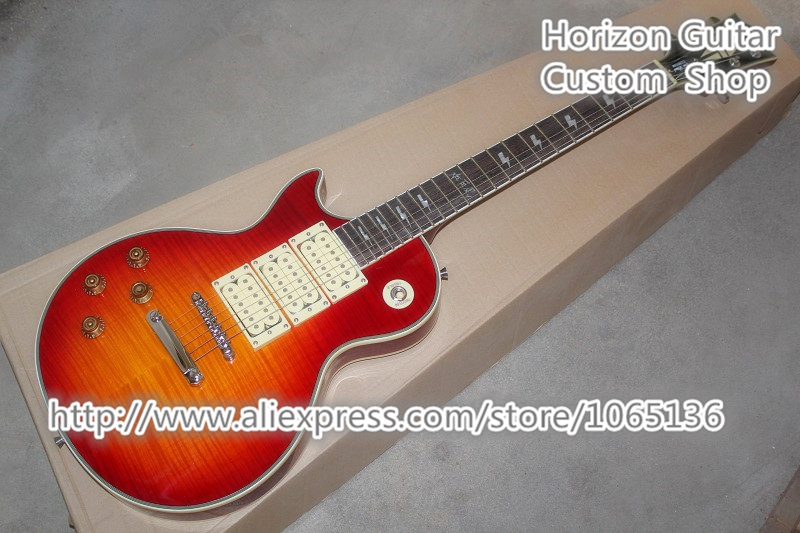 Musical Instrument Shop Ace Frehley Signature Budokan Electric Guitar Left Handed Version Chinese Factory In Stock(China (Mainland))