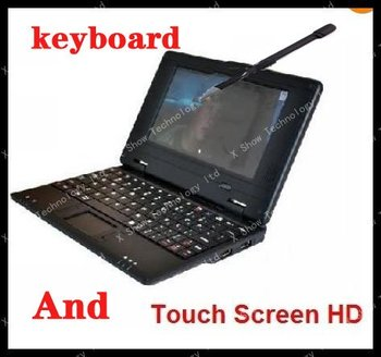 touch screen+keyboard disscount shipping 7' VIA 8650  android2.2 netbook 5 color dropship welcomed