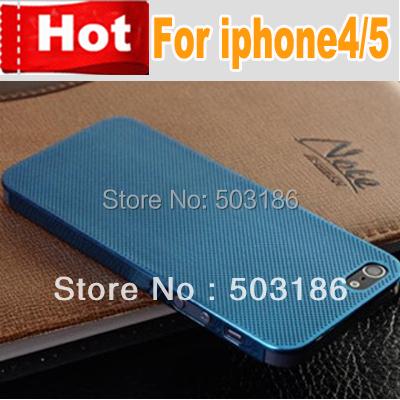 0.3mm Thin Titanium Mesh Metal Aluminum case for iphone 4 4s 5 5s ,Free shipping(China (Mainland))