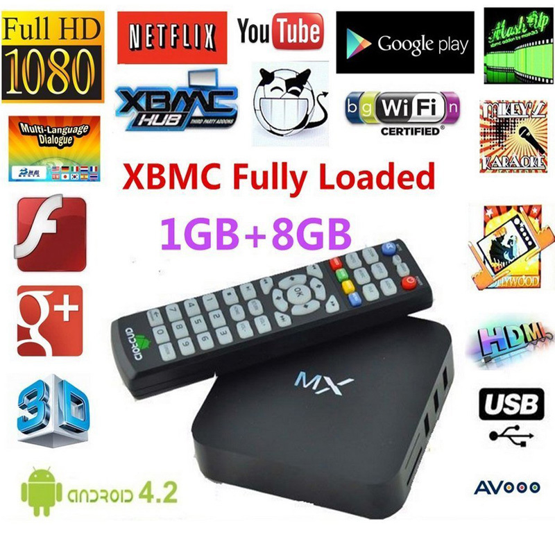 DIAOTEC Android 4.2 Dual Core Smart TV Box XBMC 1.6Ghz 1G DDR3 8GB Full HD 1080P Media Player Wifi HDMI(China (Mainland))