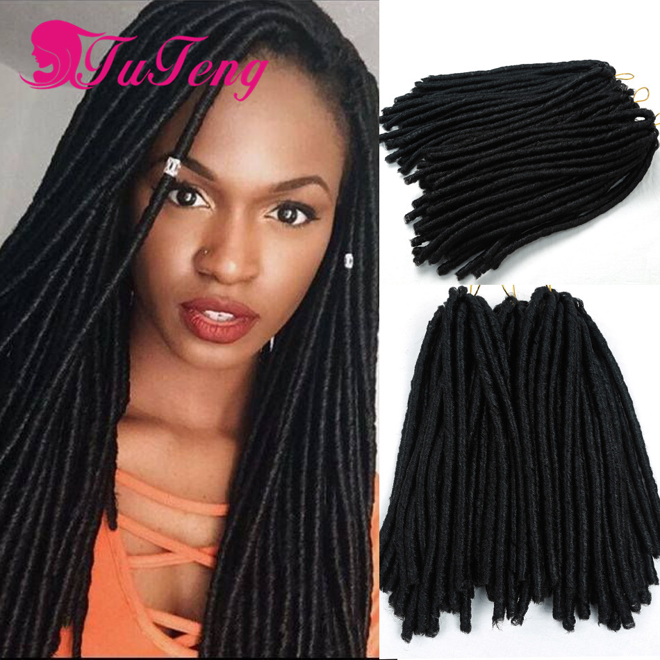 Crochet Dreads : Crochet Hair 14 Inch Dreadlock Extensions Top Quality Crochet Dreads ...