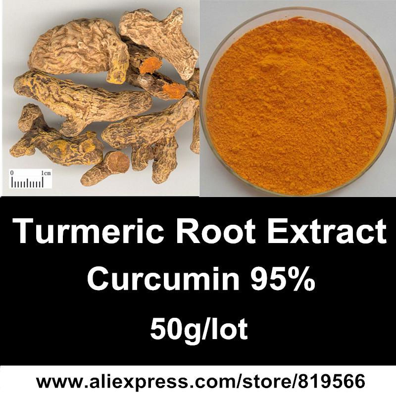 Pure Turmeric Root Extract Powder Curcumin 95% Natural Yellow Ginger Curcuma Dietary Supplements