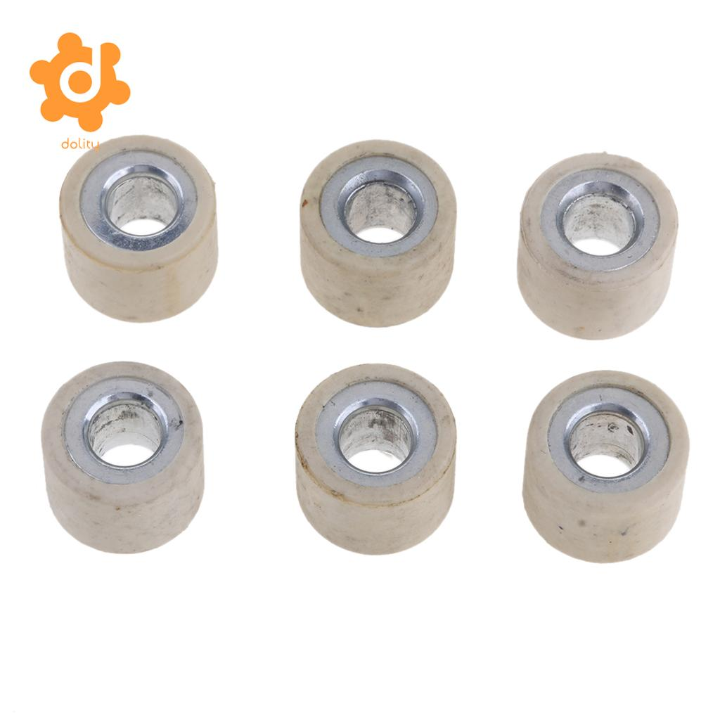 6Pcs Variator Roller Weight 14 gram for GY6 125CC 150CC Chinese Scooter 18x14mm