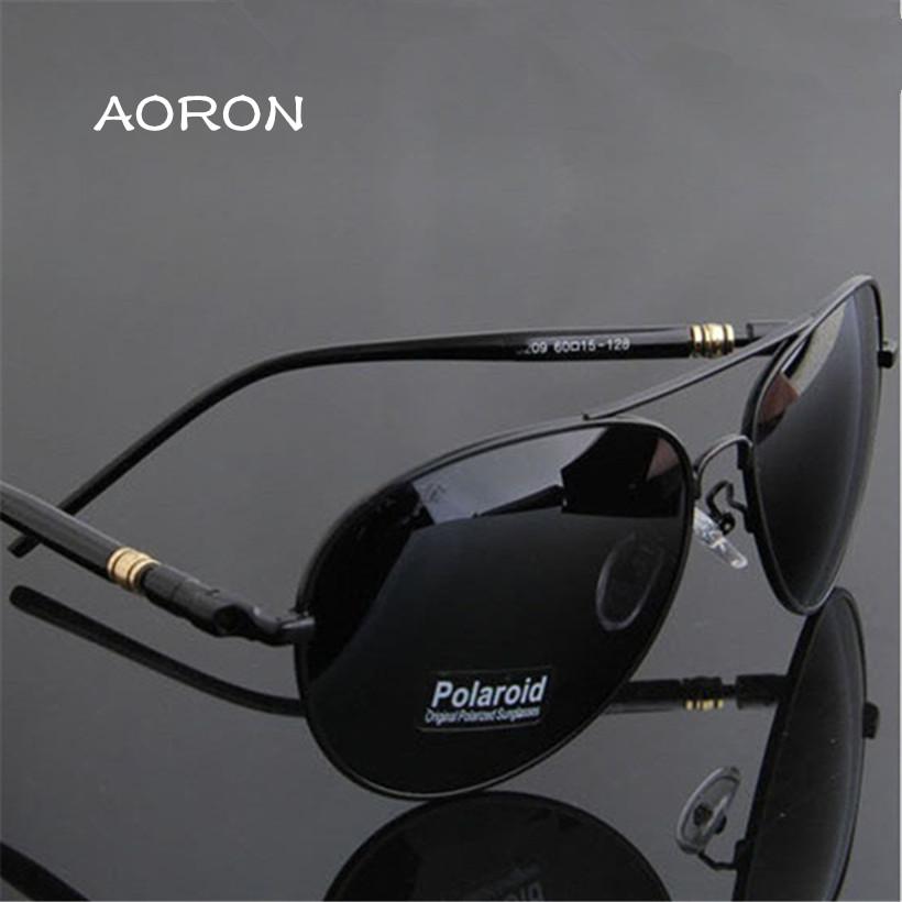 Luxury Brand Aoron Mens Polarized UV400 Sunglasses For Driving Car font b Sports b font Fishing