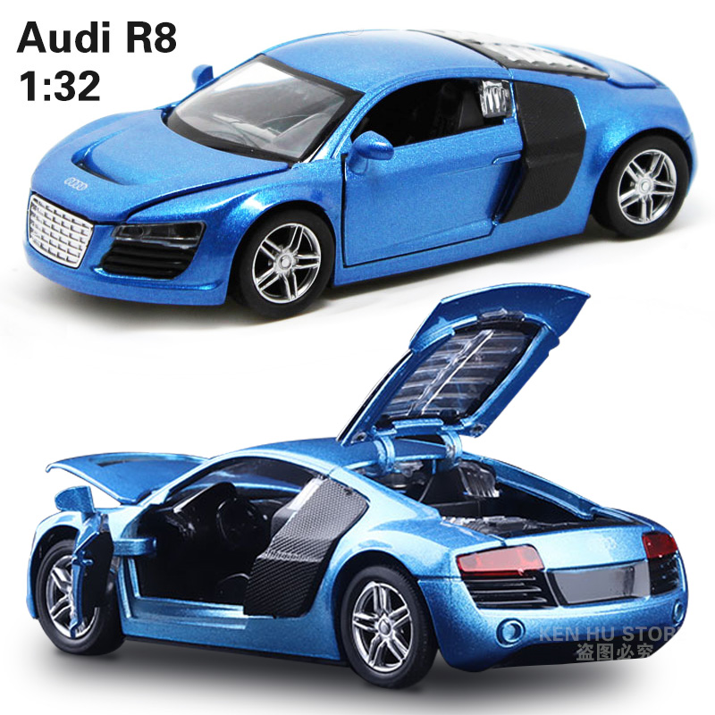 Small Toy Cars For Boys : Kids toys audi r metal toy cars model for children