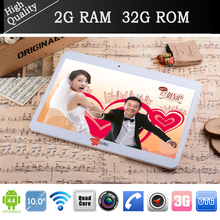 N9106 10″ Tablet PC Android 4.4 3G Phone Call Dual SIM mtk6582 Quad Core 2G/32G 1280*800 GPS Bluetooth wifi 2+5MP pad notebook