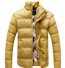Add Wool Man Warm Parkas Size M-2XL Removable Hooded Design Korean Fashion Adult Boys Outerwear Man Casual Down Jackets(China (Mainland))
