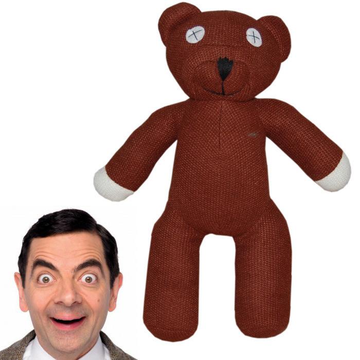 1piece 9'' 23cm Mr Bean Teddy Bear Animal Stuffed Plush Toy Brown Figure Doll Children Free shipping Retail(China (Mainland))