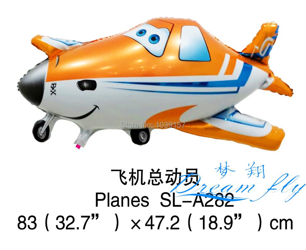 Free shipping wholesale Planes foil balloon party decoration Balloon birthday balloon 20pcs/lot(China (Mainland))