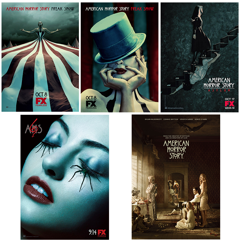 Wall decorations fan promotion shop for promotional wall for American horror story wall mural