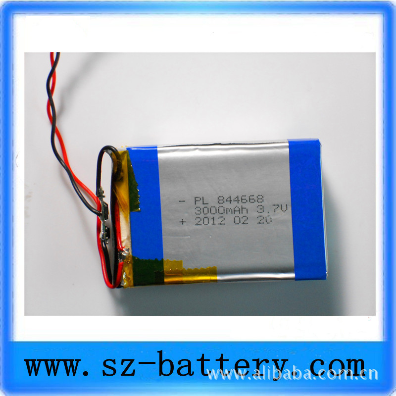 Factory Direct 844668 3.7V9000MA this cycle life more than 500 times<br><br>Aliexpress