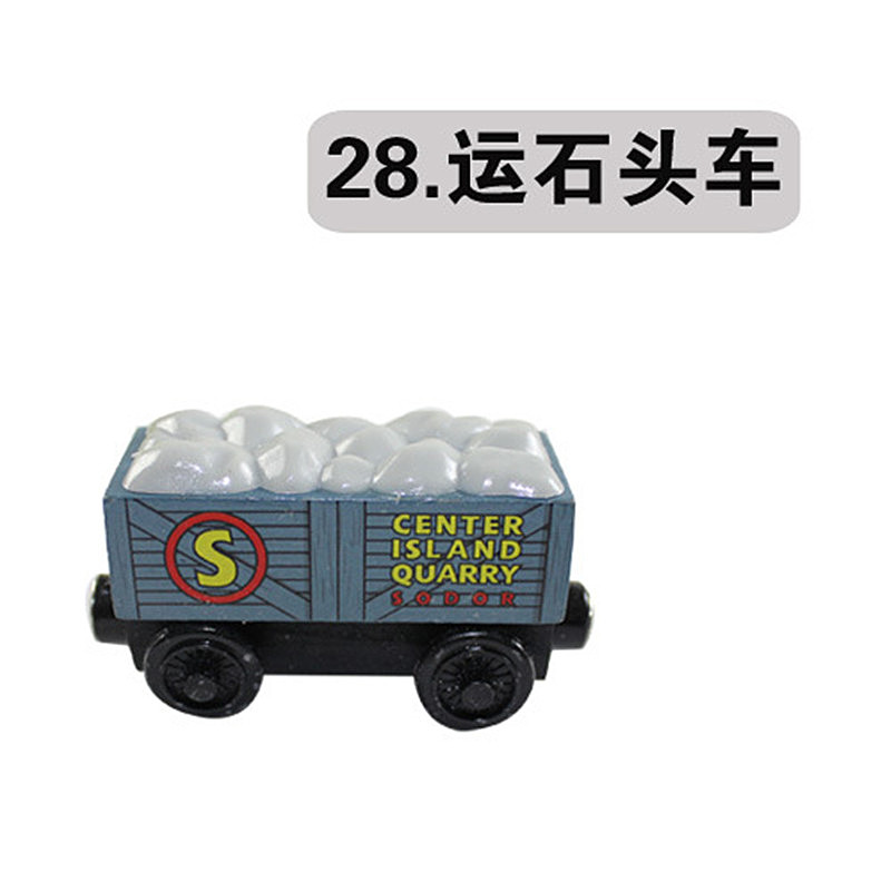 """Free shipping """" Stone car"""" model Wooden Magnetic Thomas and Friends toys baby learning & education classic toys-DS118(China (Mainland))"""