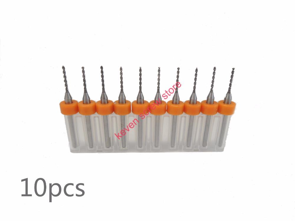 Freeshipping 10pcs/Set 1.7mm High Quality Hard Alloy PCB Print Circuit Board Carbide Micro Drill Bits Tool 1.7mm for SMT CNC(China (Mainland))